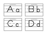 Alphabet Flash Cards - Zaner Bloser - Have Fun Teaching
