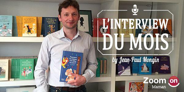 Jean-Paul Mongin : auteur de contes philosophiques pour enfants - ZoomOn