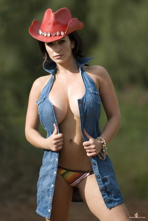 Denise Milani as Cowgirl