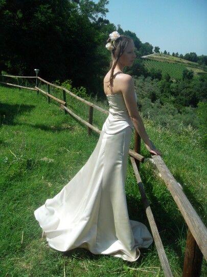 Weeding dress handmade Kuka