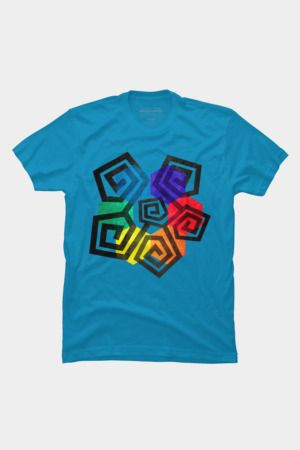 Shapes and Colors Geometric Abstract T Shirt