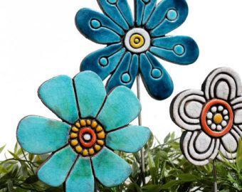 Blumengarten Kunst  Pflanze dem Spiel  Garten Marker
