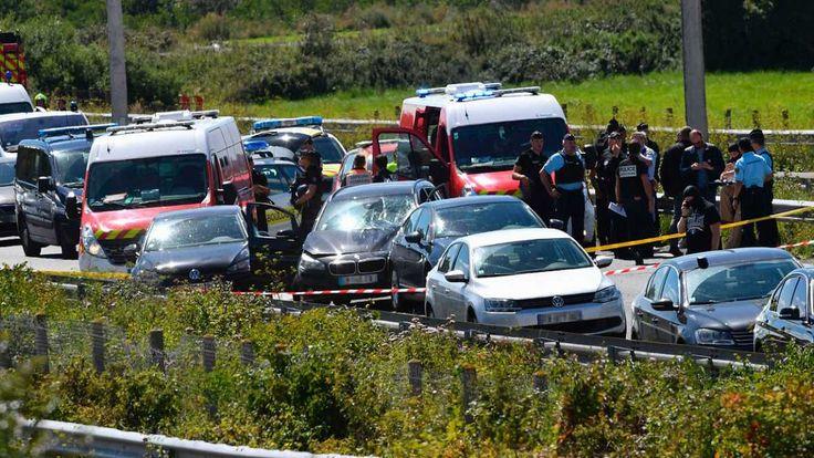 Seis militares atropellados en Francia