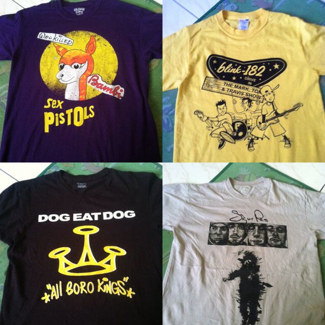 Sex Pistols / Blink 182 / Dog Eat Dog / Sigur Ros