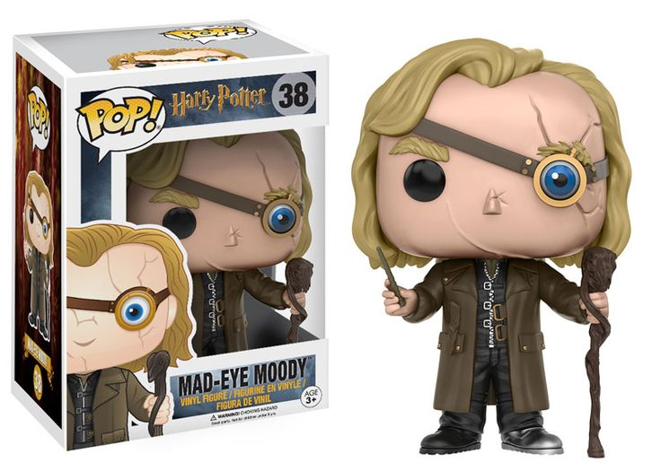 Harry Potter POP! Vinyl Figure - Mad-Eye Moody @Archonia_US                                                                                                                                                                                 More