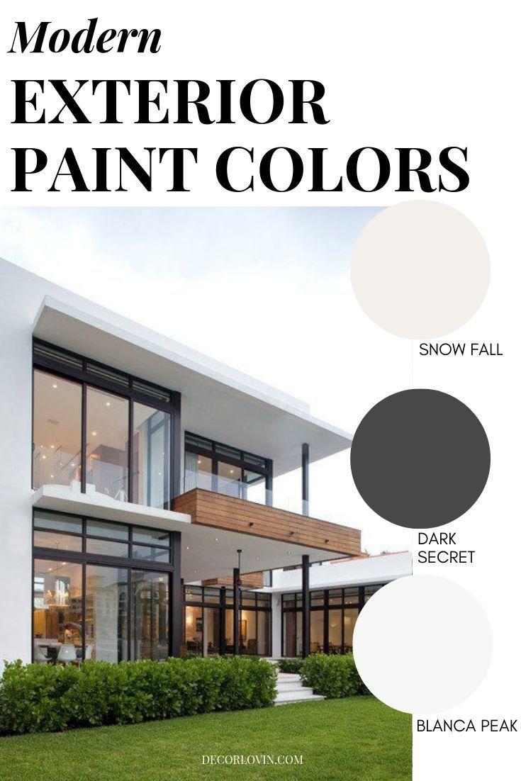 Modern Exterior Paint Colors House Exterior Color Schemes Exterior Paint Colors For House Best House Colors Exterior