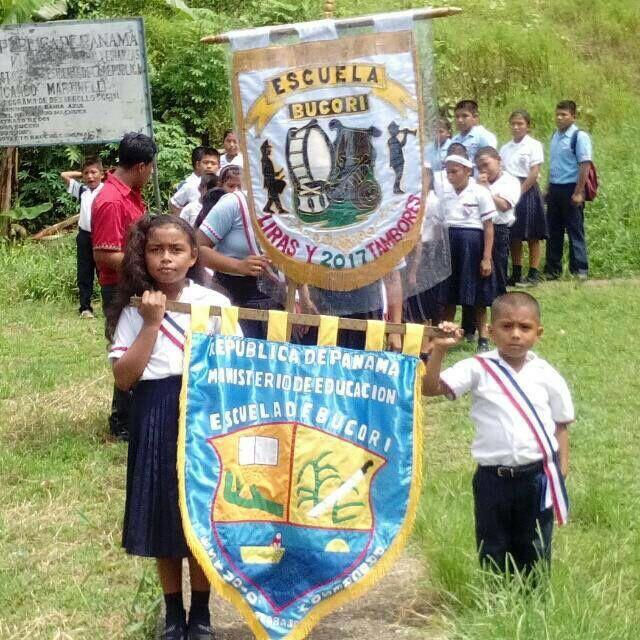 Celebrando las efemérides patrias en un lejano pueblito del interior de Panamá 🇵🇦 11/03/17 @frenadeso