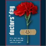 Red Carnation Design National Doctors' Day Customizable Postcards. Matching cards, postage stamps and other products available in the Business, Occupation Specific / Healthcare Category of our Store.