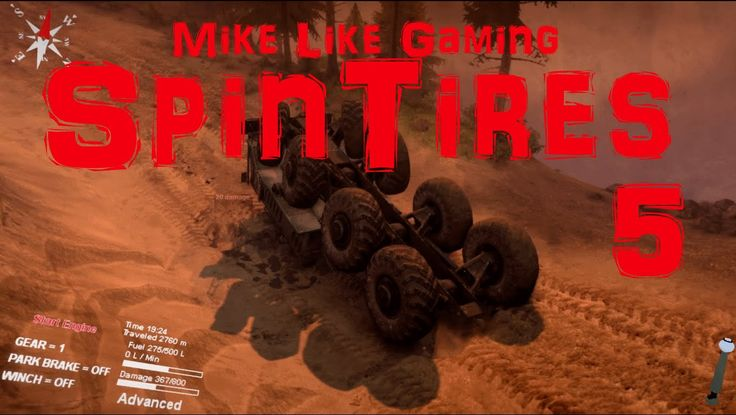 In this episode of my playthrough of SpinTires: Volcano Map I decloak more of the map and have some problems with flipping.