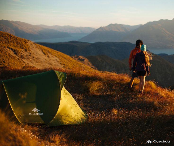 Toile de tente quechua. Fibre de verre, nylon, polyester, dépliable  biomorphisme (tortue), saisonnier, fonctionnelle, simple
