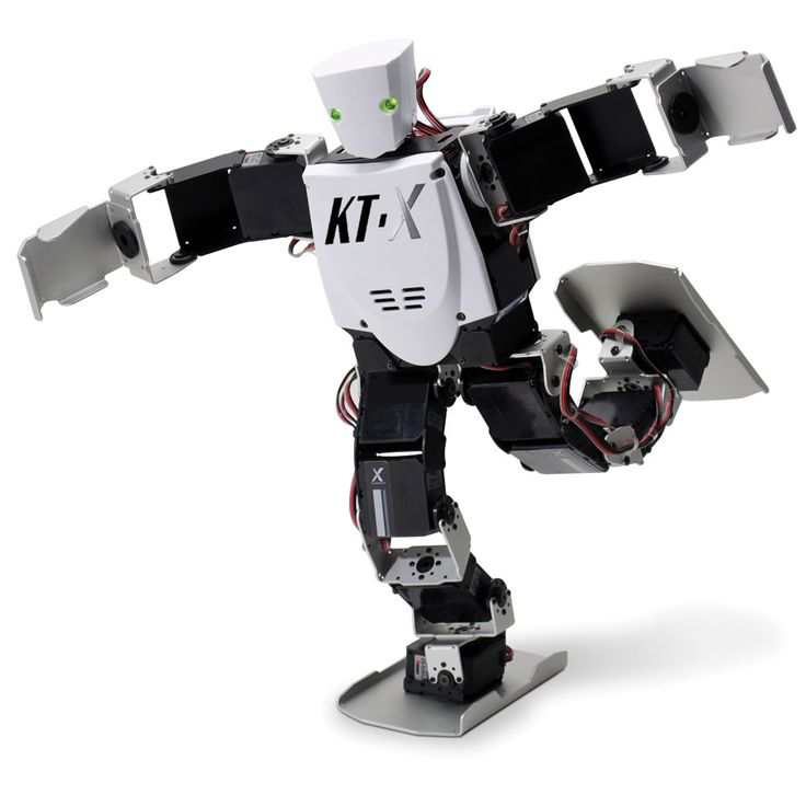The Advanced Acrobatic Robot - Hammacher Schlemmer - This is the advanced robot with an acrobatic repertoire of 75 moves that include somersaults, backflips, and playing an air guitar solo.