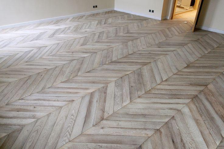 pattern. chevron wood floors.