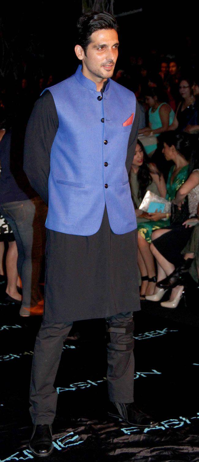 NJ 0031 Zayed Khan at the Lakme Fashion Week 2014 #Style #Bollywood #Fashion #Handsome #LFW2014