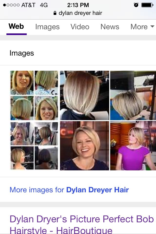 dylan dreyer hair styles bob