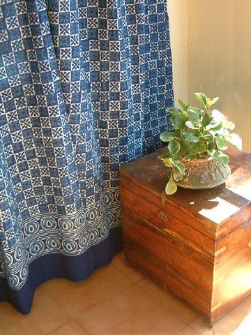 Mooie #gordijnen van #batik