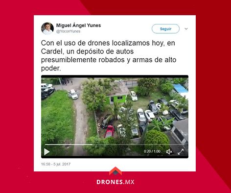 Utilizan dron para localizar lotes de autos robados en Veracruz. Video y nota en: https://drones.mx/blog/utilizan-dron-para-localizar-lote-de-autos-robados-en-veracruz/ #aerialfilming #buydrones #flydrones #droneblog #dronestagram #dronefly