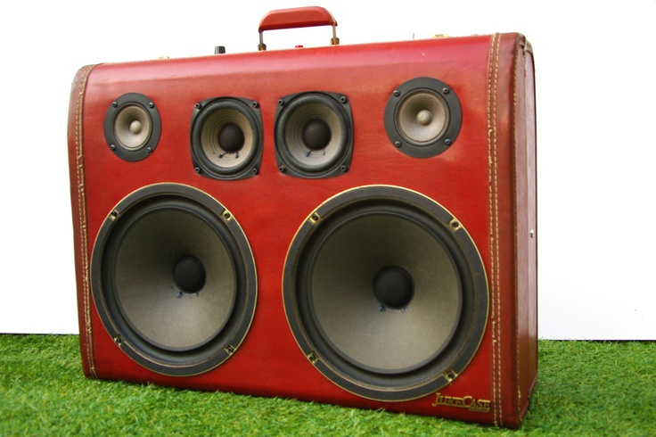 'The Red Barron' JukeCase by Son Valise