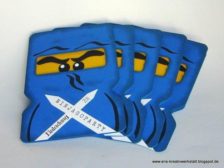 ninjago einladungskarten – cloudhash, Einladungsentwurf