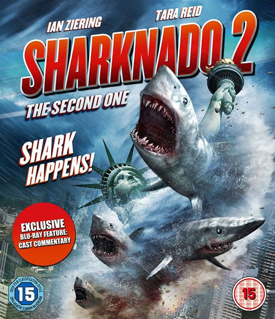 'Sharknado 2: The Second One' Blu-ray Review