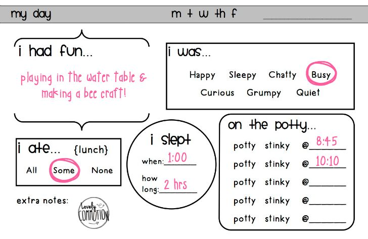 sign up sheet for the preschool party templates - Google Search