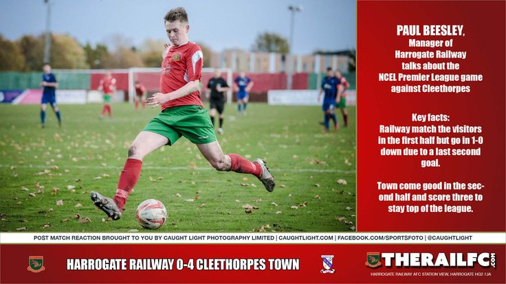 Cleethorpes Town Post Match Reaction (audio)        @therailfc @CleeTownFC @Howell_rm @TomHarle96