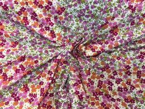 tessuto maglina fiorellini