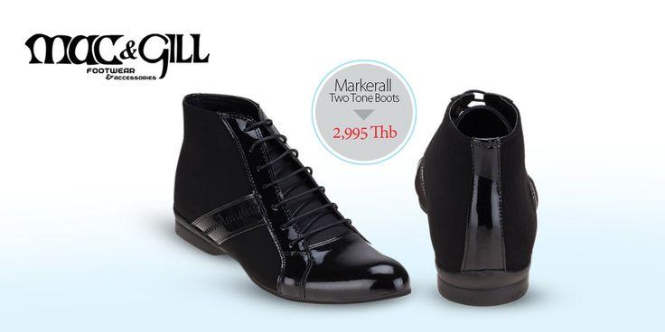 Markerall Black Boots  Price: 2,990 Thb  www.mac-gill.com #macngillshoes #StyleIcon #StreetStyle #mens #stylish #style #MenStyle #MensFashion #MensFashionTips #MensWear #moda #tendencias #fashion #OutfitOfTheDay #outfit #OutfitDelDia #LookDeHoy #look #LookOfTheDay #LookDelDia #Estilismo #british #dapper #blazer #preppy #HarrisTweed #tweed#PersonalAppearance#ReadyToWear #ImageCoaching #PersonalShopping #PersonalShopper