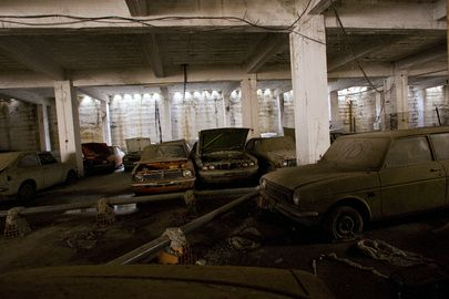 Toyota Of Grand Rapids >> Abandoned car dealership in Cyprus, UN Buffer Zone. | Neglected Space | Pinterest | Photos ...