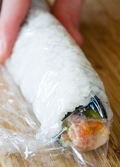 spicy tuna scallop sushi roll recipe | use real butter | Sushi ...