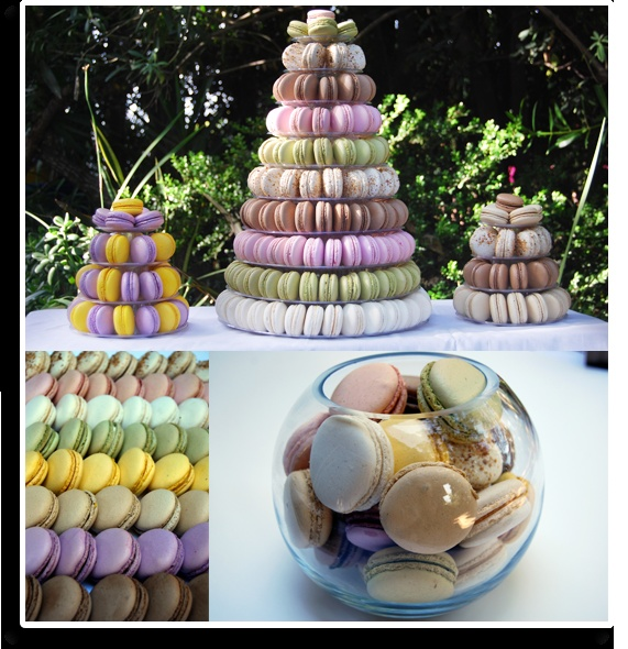 Had the blueberry lavender, praline and chocolate today.. yummy..: Buffets De, Buffet De Cachorro-Qu, The Angel, Macarons, Macaron Towers, Photo Buffet, Photos Buffets