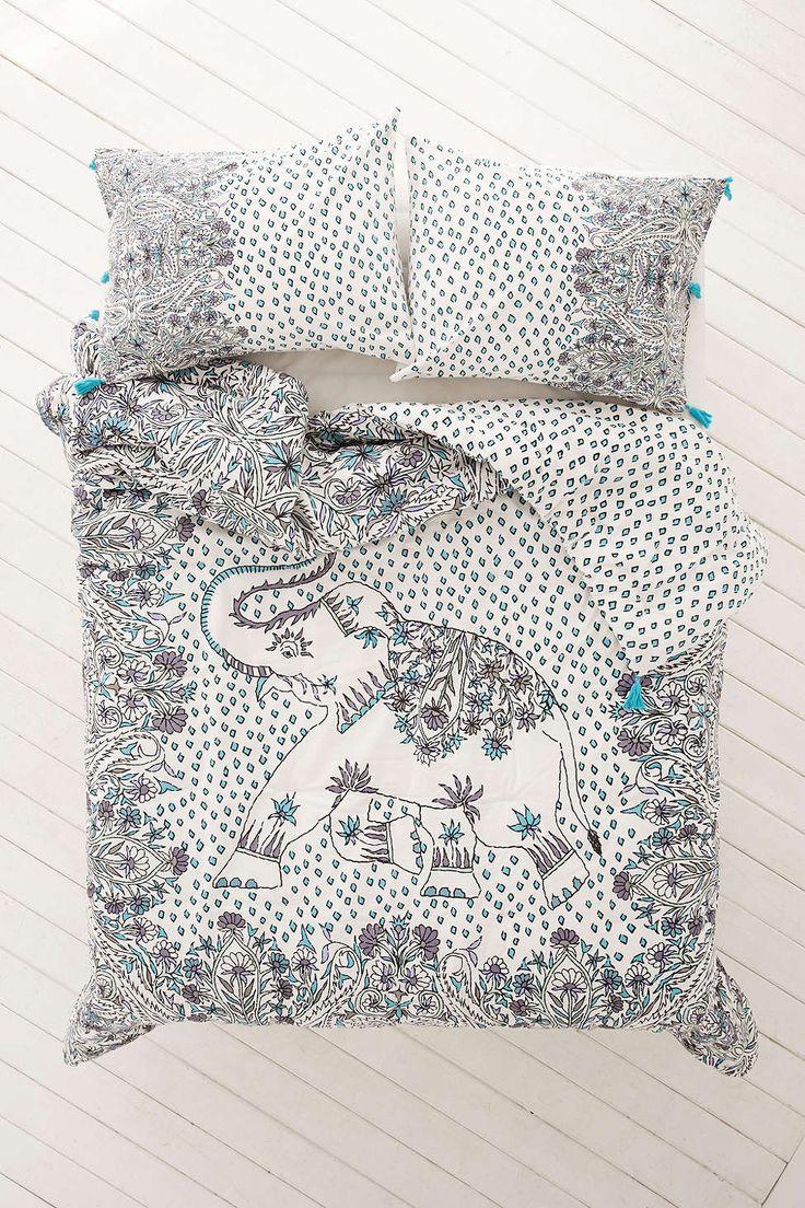 Magical Thinking Festive Elephant Comforter