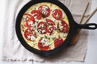 baked frittata by the little red house, via Flickr