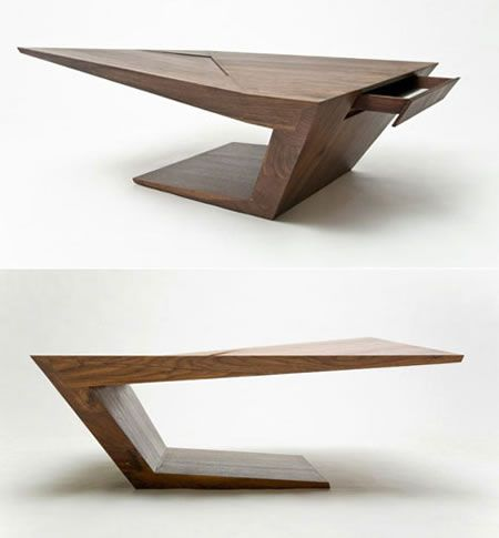 the startrek era has began contemporary furniture is so much like abstract modern art - Modern Desk Design