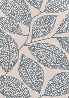 Pebble Leaf Boathouse Blue - MISP1039 - Miss Print - Midbec - Tapeter-tyger.se