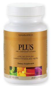 PLUS - Nutrition is an essential component for supporting hormones to be in balance every day. PLUS™ contains a proprietary blend of phytohormones, plant-based seroidal saponins, and glyconutrients to support the body's natural ability to maintain good health. Mannatech's PLUS™ has one of the highest concentrations of natural plant-based phytosterols on the market today. These come from discorea villosa, or true Mexican wild yam, a plant that produces high-quality plant-based oestrogens.