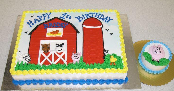 1st Year Birthday Cakes