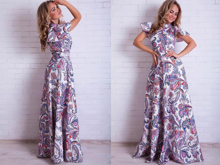 Новые модели платья в пол
