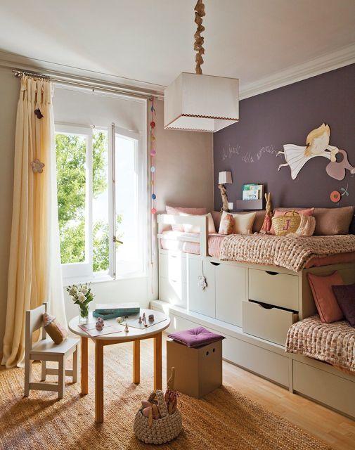 Organizando o espa o das crian as dormitorio de ni as for Cuartos para ninas lindos