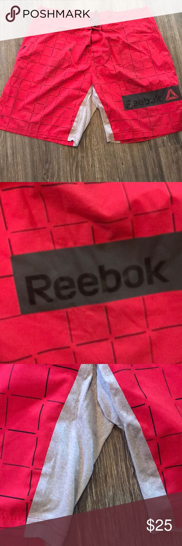 Men's Reebok Crossfit Shorts Great used condition No rips, stains Comes to you from smoke free home Reebok Shorts Athletic