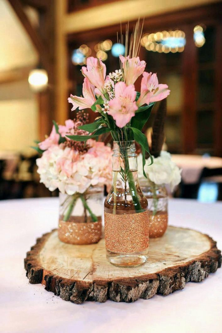 Simple Wedding Fall Centerpiece Ideas Marvellous Design Round
