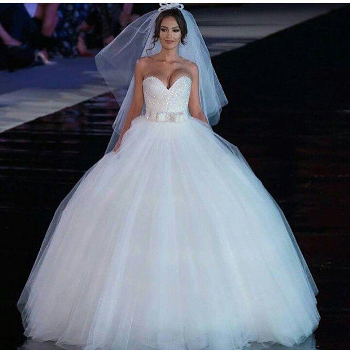 56 best Wedding Dresses images on Pinterest | Brides, A line dress ...