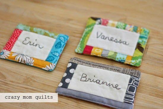 crazy mom quilts: scrappy, scrap, scrap - great idea for scrap use.