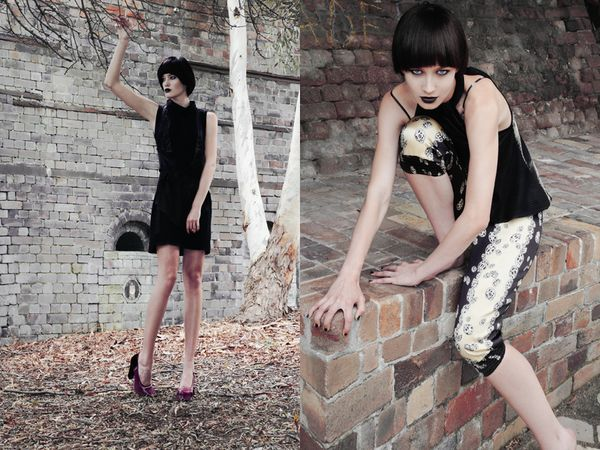 Photography: James Dimitri Hair & Mkup: Verity Griffiths