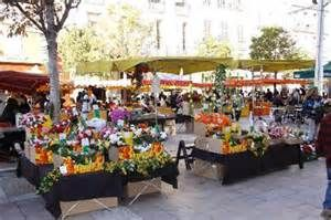 Shopping at the Toulon, France Market