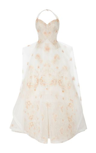 Zac Posen Floral Gown