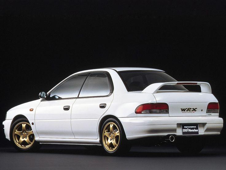Subaru Impreza WRX Type RA STi Version IV (GC8E4DD) '1997–98