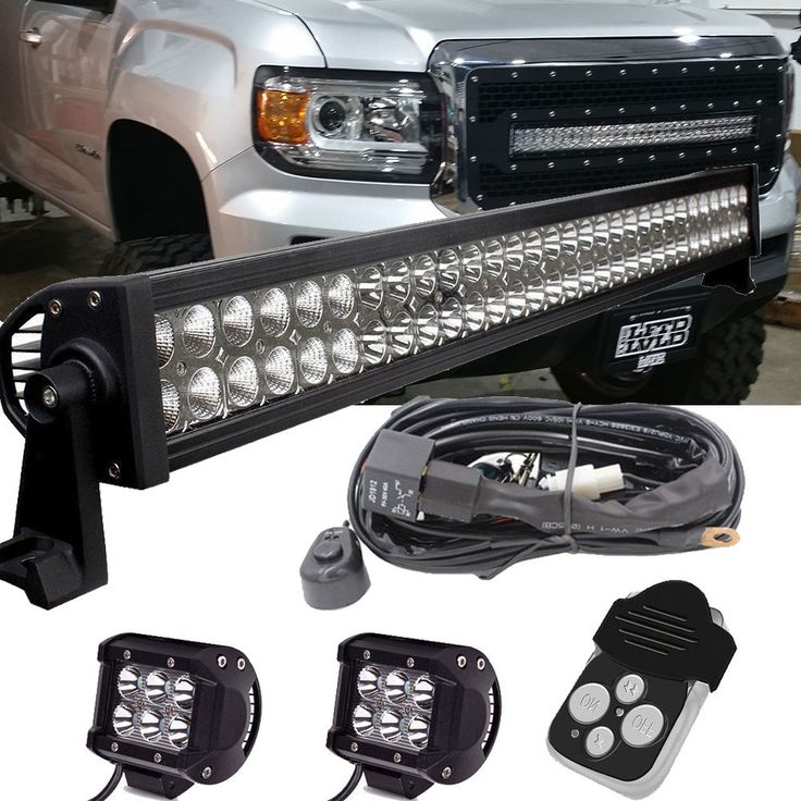 "LED Light Bar 30"" RDS 2015-2016 GMC 2500 3500 Chevrolet Silverado 2500 3500 HD 