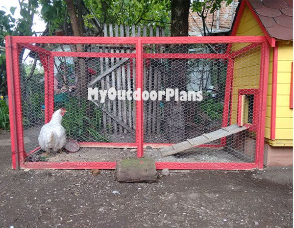 1000 images about free chicken coop plans on pinterest for Chicken run plans