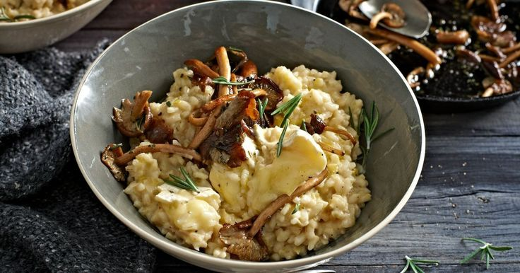 This is a seriously satisfying risotto packed with fresh herbs, mushrooms and delicious brie.