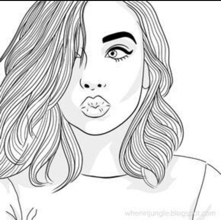 Retrato Realista Dibujos Tumbrl Imagenes De Dibujos Tumblr